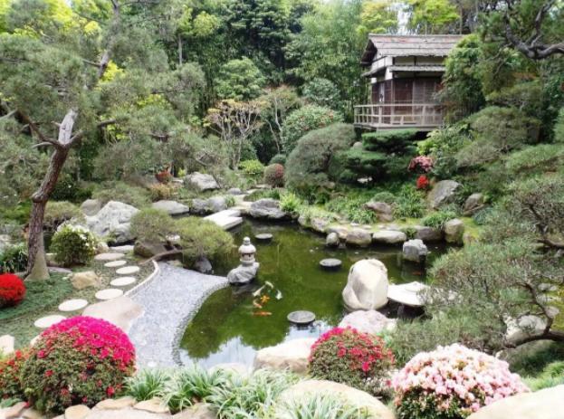 японский ландшафтный стиль