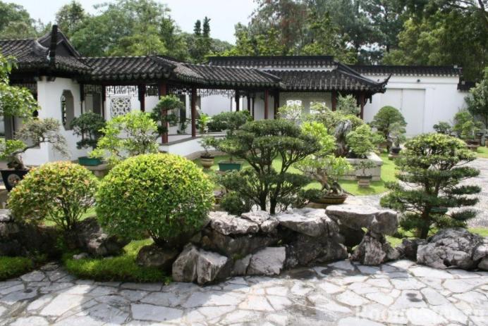 ландшафтный китайский стиль